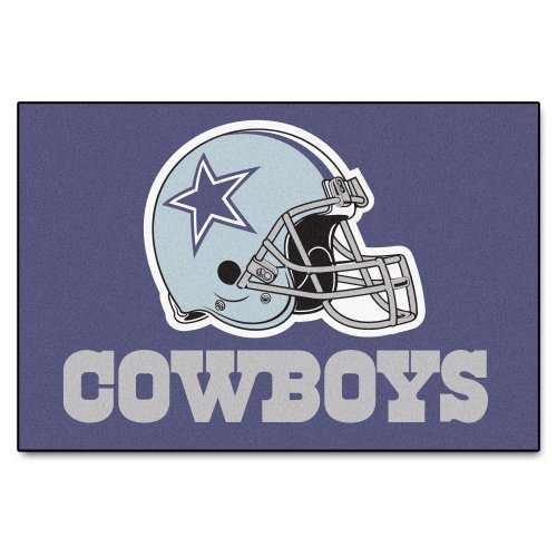 Fanmats Nfl Dallas Cowboys Nylon Face Starter Rug Home