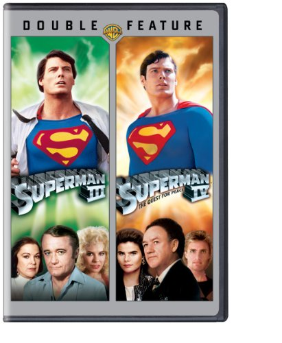 DVD : Superman III / Superman IV (Anniversary Edition, Dolby, 2 Pack, Dubbed, )