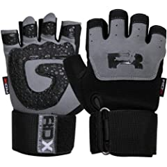 Buy Authentic RDX Gel Weight lifting Training Gloves Gym Straps Bar by RDX