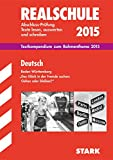 Realschule Baden-Württemberg - Deutsch Textkompendium 2014/15