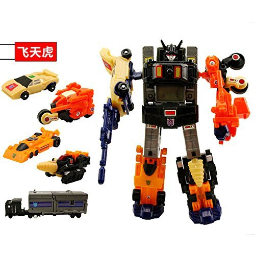 No retail box 22cm Tall Menasor Figure 5-in-1 Multiple Kids Toys (Transformers United Drift compare prices)