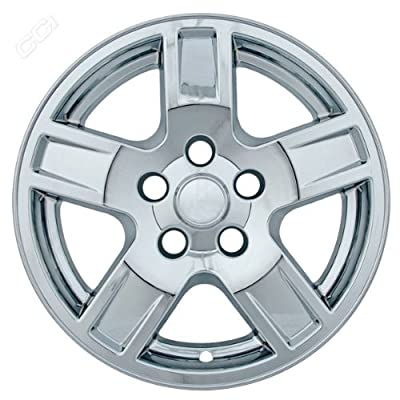 Coast To Coast IWCIMP314X 17 Inch Chrome Wheelskins With 5 Indented Spokes - Pack Of 4