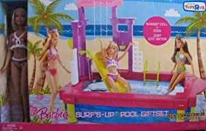 Barbie Surf 39 S Up Pool Giftset W Barbie Doll Pool Toys 39 R Us Exclusive 2007 Toys