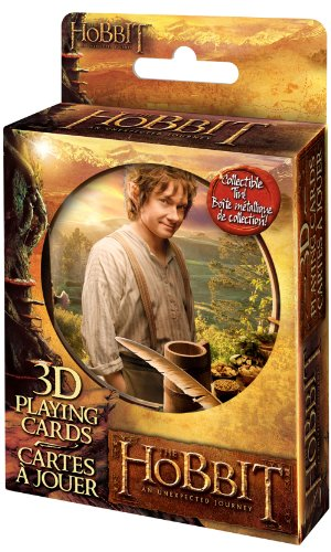The Hobbit 3D Lenticular Deck in Tin