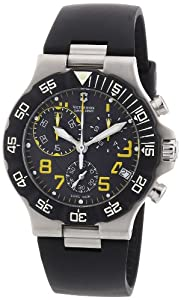 Victorinox Swiss Army Mens 241408 Summit XLT Chrono Chronograph Grey Dial Watch by Victorinox