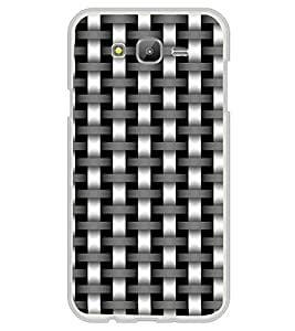 ifasho Modern Art Design animated cloth Pattern of black and white bamboo style Back Case Cover for Samsung Galaxy J5