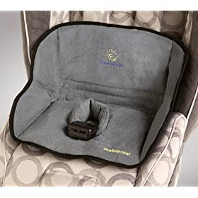 Sunshine Kids Dry Seat Pad, Grey (Discontinued by Manufacturer)