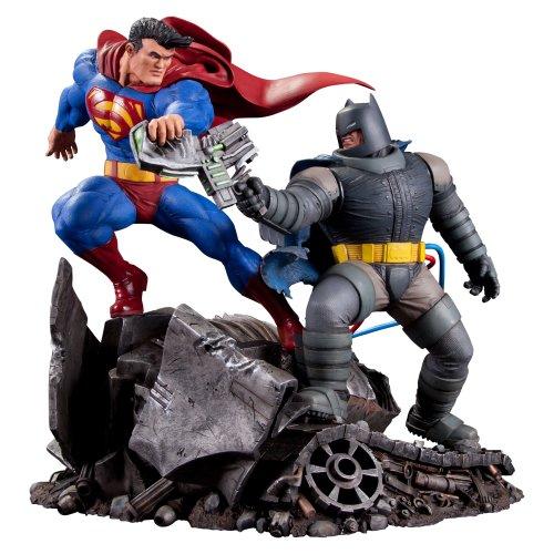 DC Collectibles・アメリカンヒーローシリーズ リアル★スーパーマンVSバットマン【海外輸入】