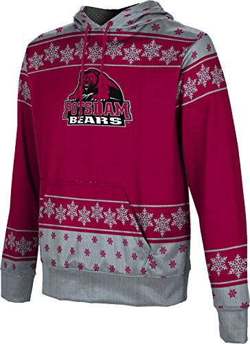 Boys' State University of New York at Potsdam Ugly Holiday Snowflake Pullover Hoodie
