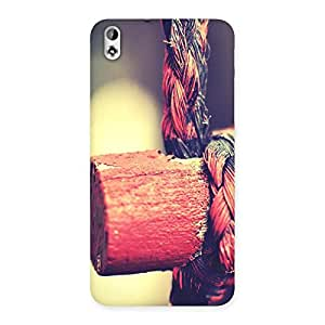 Cute Rope on Bamboo Back Case Cover for HTC Desire 816s