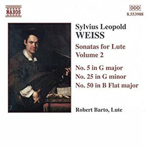 Weiss: Sonatas for Lute, Vol. 2/Robert Barto