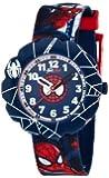 Flik Flak Watches Jungen-Armbanduhr Spiderman Analog Quarz Textil FLSP001