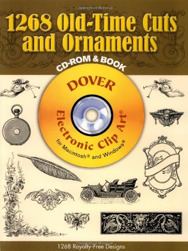1268 Old-Time Cuts and Ornaments (Dover Electronic Clip Art)