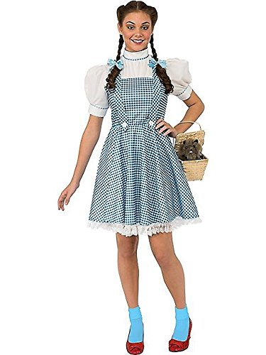 Women's Dorothy Wizard of Oz Costume L
