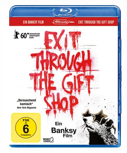Banksy - Exit through the Gift Shop [Blu-ray] (inkl. Wendecover und deutscher Fassung) [Alemania]