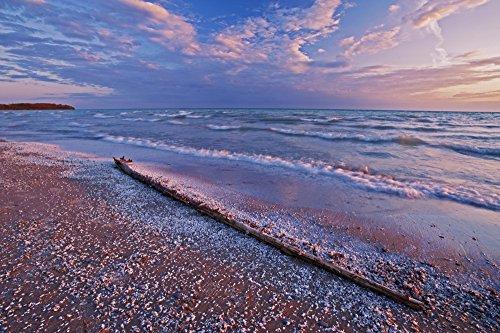 mike-grandmaison-design-pics-pebbles-and-shells-on-shoreline-of-lake-ontario-sandbanks-provincial-pa