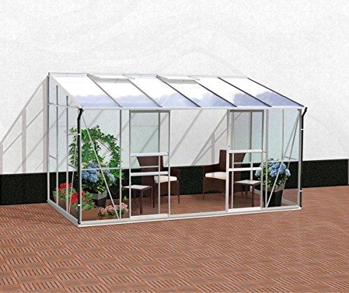 vitavia gew chshaus ida 7800 6 mm hohlkammerplatten. Black Bedroom Furniture Sets. Home Design Ideas