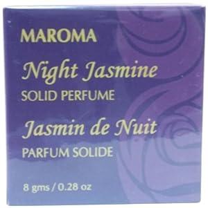 Maroma Solid Perfume, Night Jasmine, 8 Gram
