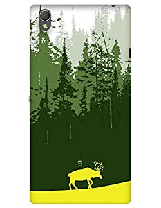 myPhoneMate Deer in case forest case for Sony Xperia T3