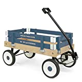 Berlin F257 Amish Made Pee Wee Flyer Ride On Wagon, Navy
