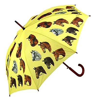 Gorgeous Horse Head Umbrella Rain Or Shine Fashion