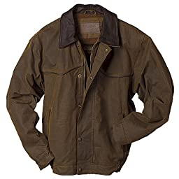 Outback Trading Co Men\'s Co. Oilskin Jacket Bronze XX-Large