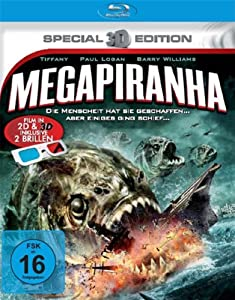 Mega Piranha (3D-Special Edition) [Blu-ray]