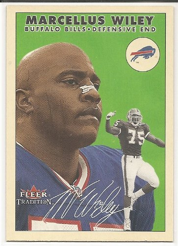 Marcellus Wiley 2000 Fleer Tradition Glossy Buffalo Bills