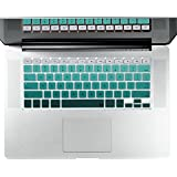 "Litop ' Green Gradient Series Silicone Keyboard Cover Keyboard Skin For All MacBook Air 13"", MacBook Pro With..."