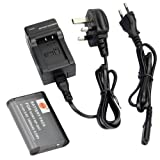 DSTE® NP-BX1 Rechargeable Li-ion Battery + Charger DC134U for Sony NP-BX1, NP-BX1/M8 and Sony Cyber-shot DSC-HX50V, DSC-HX300, DSC-RX1, DSC-RX1R, DSC-RX100, DSC-RX100 II, DSC-RX100M II, DSC-WX300, HDR-AS10, HDR-AS15, HDR-AS30V, HDR-AS100V, HDR-AS100VR,