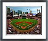 "St. Louis Cardinals Busch Stadium Photo 12.5"" x 15.5"" Framed at Amazon.com"