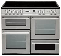 Leisure RCM10CRS Electric Range Cooker Free Standing Silver by Leisure