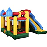Generic Mighty Inflatable Bounce House Castle Jumper Moonwalk Bouncer Without Blower
