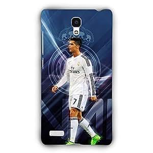 EYP Cristiano Ronaldo Real Madrid Back Cover Case for Xiaomi Redmi Note 4G