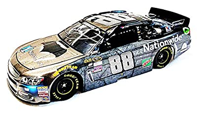 AUTOGRAPHED 2016 Dale Earnhardt Jr. #88 Nationwide Insurance Racing BATMAN CAR (Batman Vs. Superman Movie) Signed Lionel 1/24 NASCAR Collectible Diecast Car with COA (1 of only 8,688 produced!)