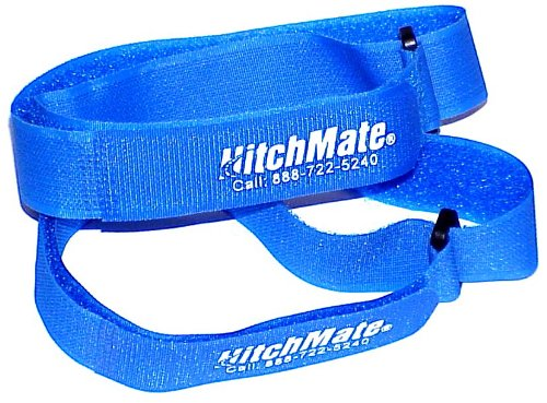 "Best Deals! Heininger HitchMate 4076 QuickCinch Blue 21"" hook and loop Soft Strap, (Pack of 4)"
