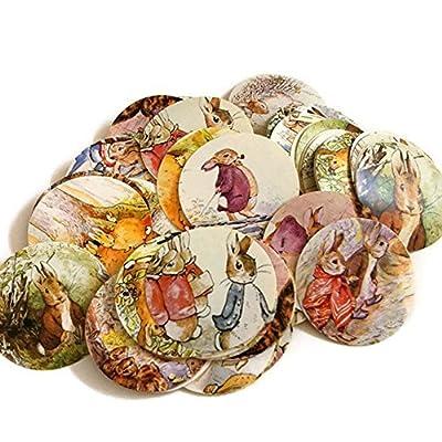 Peter Rabbit Stickers Label - Set of 50