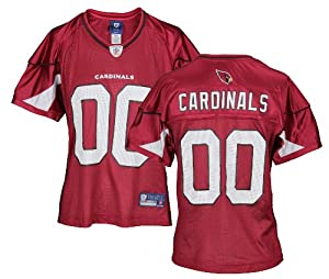 Arizona Cardinals NFL Ladies Team Replica Jersey, Red by Reebok