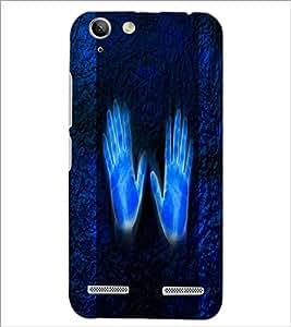 PrintDhaba Hands D-4418 Back Case Cover for LENOVO LEMON 3 (Multi-Coloured)