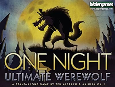 One Night Ultimate Werewolf Board Game from Bezier Games