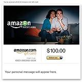 Amazon eGift Card – Amazon Instant Video)