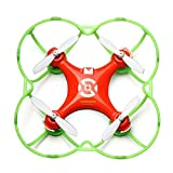 Cheerson CX-10/CX-10A Mini 29mm 4CH 2.4GHz 6-Axis Gyro LED RC Quadcopter + Protection Cover (! With Protection Cover)