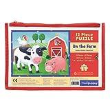 On The Farm 12 Piece Puzzle Multi
