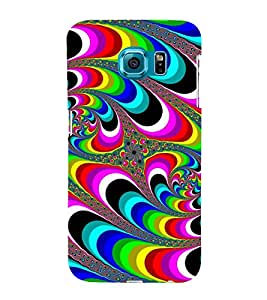 COLOURFULL TRADITIONAL ETHNIC PATTERN 3D Hard Polycarbonate Designer Back Case Cover for Samsung Galaxy S6 :: Samsung Galaxy S6 G920