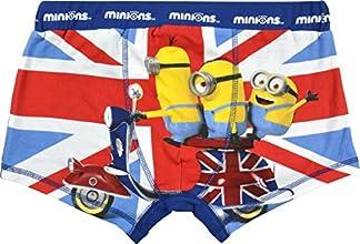 Minions Boxershorts England, mehrfarbig (M)
