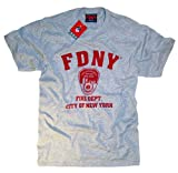 FDNY Shirt T-Shirt Authentic Clothing Apparel Officially Licensed Merchandise by The New York City Fire Department