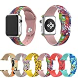 Kanzd Fashion Replacement Silicone Bracelet Strap Band For Apple Watch (42mm, Band Length: 208MM)
