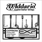 D'Addario .056 EXP Coated Phosphor Bronze Single String