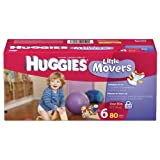Huggies Little Movers Diapers Size 6 - 80 Ct
