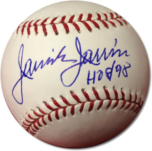"Jaime Jarrin ""Hof 98"" Signed Autographed Official Mlb Baseball With Coa Dodgers Announcer"